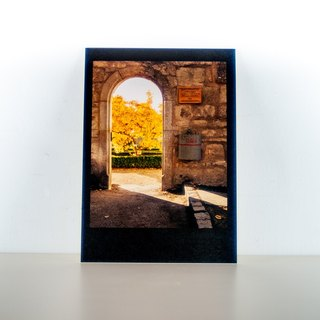 Photographic Postcard: Stone made arche, Rothenburg ob der Tauber, Germany