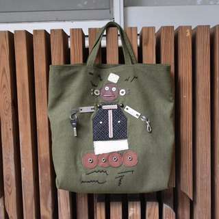 Robotized tote bag