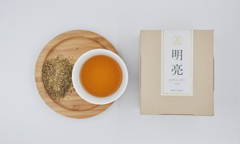 Qinggan Yangyan [ Bright Tea 10 Into] - 枸杞Chrysanthemum Lemu Set 100% Natural Hanfang Tea