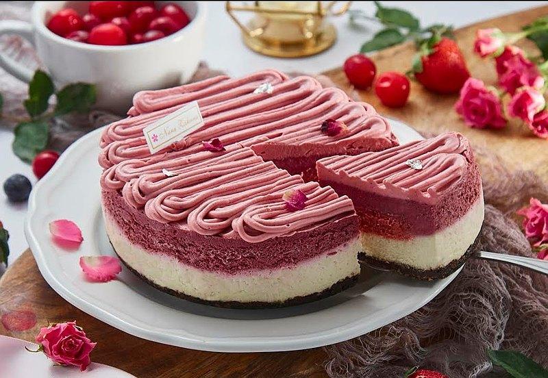 奈良櫻手作- 綜合莓果重乳酪蛋糕