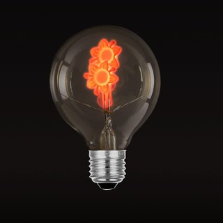 Good Form‧Good Shape │Decorative atmosphere‧pattern light bulb ‧floral bulb