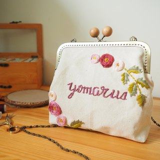 Handmade embroidery bag