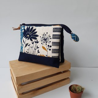 Blue Flower Five-Layer Bag for Mother and Mother's Best Mother's Day Gift