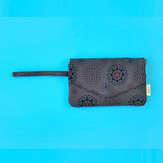 Smart Phone Purse / Firework / Dark Night Grey