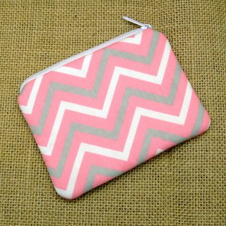 Zipper pouch / coin purse (padded) (ZS-267)