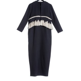 16 autumn and winter before the sale 16AW ankle long dress