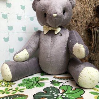 Handmade teddy bear texture gray 50cm only one left in stock