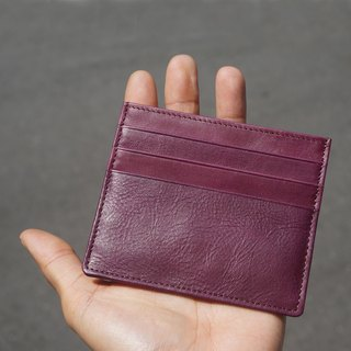 Sienna Leather Card Holder (Easy Lightweight Wallet)