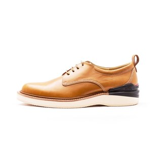 Manufacturing Chainloop SCOT Derby sport casual shoes cushion insole outsole Taiwan yellow cowhide leather uppers