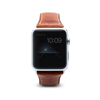SLG Design Apple Watch 1/2/3 42mm D7 IWL Wax Replica Leather Strap