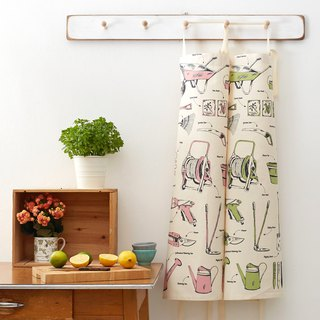 British Egg Organic Cotton Apron Happy Gardener