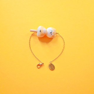 Elderly っ て Chai dog dumpling - bracelet (size can be customized)