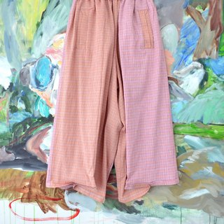 TIMBEE LO pink multi-color pointed trousers