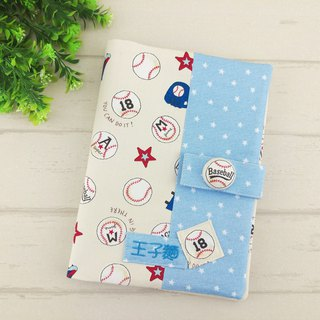 Major League Baseball. Baby handbook mother book cloth book (free embroidery)