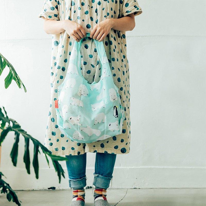 日本 Prairie Dog 設計包/環保袋/購物袋/手提袋 - 北極熊