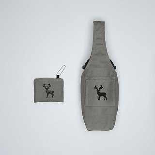 YCCT Eco Beverage Bag Cover - Reindeer - Patent Storage is not afraid to forget