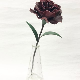 Wine Leather Carnation