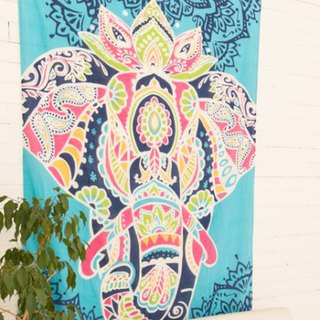 Pre-order color mosaic elephant cloth ISAP81A4