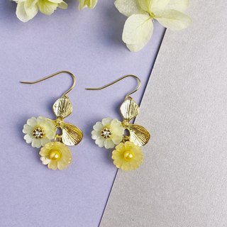 Little Yellow Daisy Earrings
