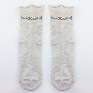 Moomin 噜噜米 authorized - rolled stockings (grey), AE02