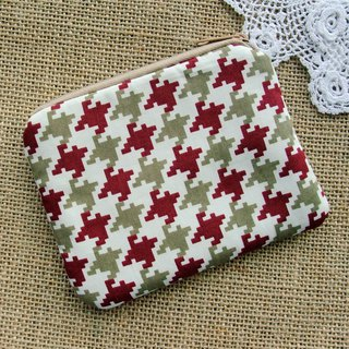 Zipper pouch / coin purse (padded) (ZS-274)