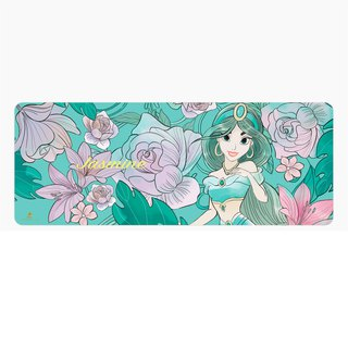 InfoThink Disney Princess Series Flowerbed Mouse Mat - Princess Aladdin Jasmine