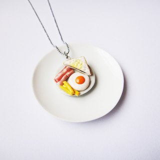 Necklace breakfast set