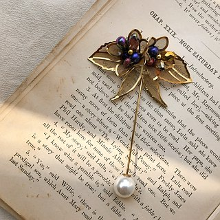 Golden Spike Series Butterfly Pin