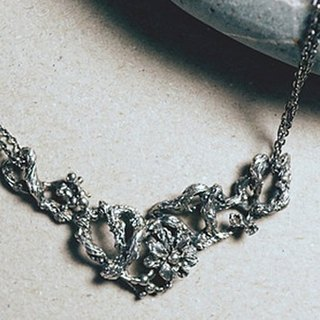 Clematis [Necklace][Silver]
