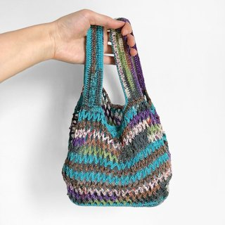 Crochet _ hole lunch bag _ paramecium