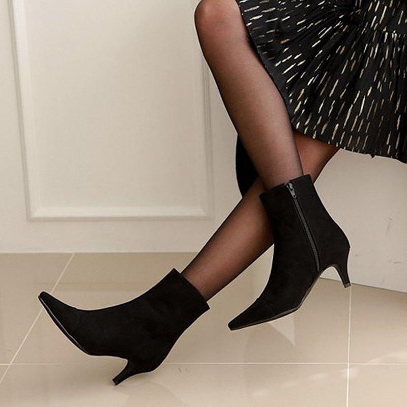 PRE-ORDER 韓國人手製 MACMOC VALENTI (Black) 短靴