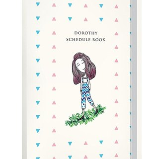 Dorothy no stale logbook (with decorative stickers + people bookmarks) - triangular point (9AAAU0002)