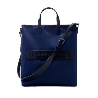 Dark blue waterproof EAP tote bag