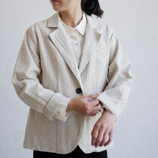 Ethical Hemp Tailored Style Jacket