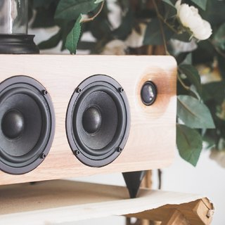 MINFORT|MIN7: The Multi-function Handmade Wooden Speaker (Oak)
