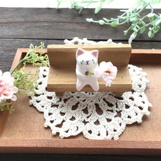 Cat and Flower 2