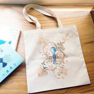 Thick pound canvas bag │ Alice in Wonderland │ single dream 13th chapter