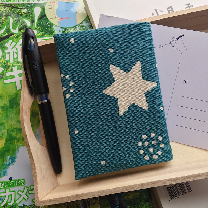 限量布款 北歐風星星護照套 護照夾