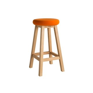 Chair stool. Yaxie high stool, multi-color optional-[love door]