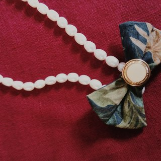 Order of light sea pearl necklace