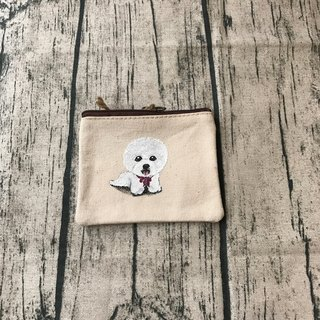 Hand-painted design exchange gifts than bear hair kid coin purse