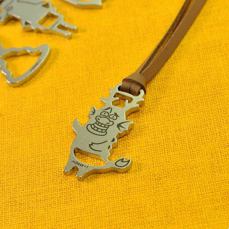 12生肖鑰匙圈吊飾 龍