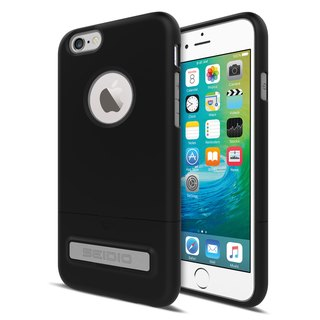 City Fashion Two-tone Cover / Case for iPhone 6 (s) Plus - YAPPLE Black -SURFACE Collection