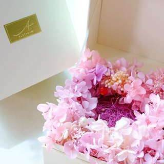 Fleur d amour exquisite handmade eternal flower dried flower gift box reservation