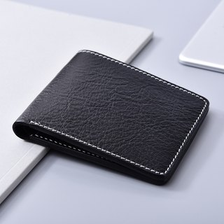 Shaped pants black short clip / wallet / wallet
