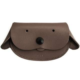 [ADOLE puppy leather purse