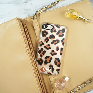 Black eye cushion air cushion anti-fall mobile phone shell [leopard pattern]