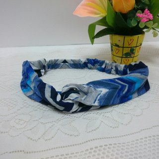 Ripples ~ cross section headband