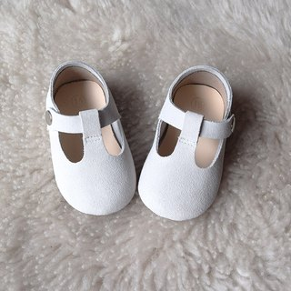 White Leather Baby Shoes, Baby Girl Shoes, Baptism Shoes, Baby Moccasins