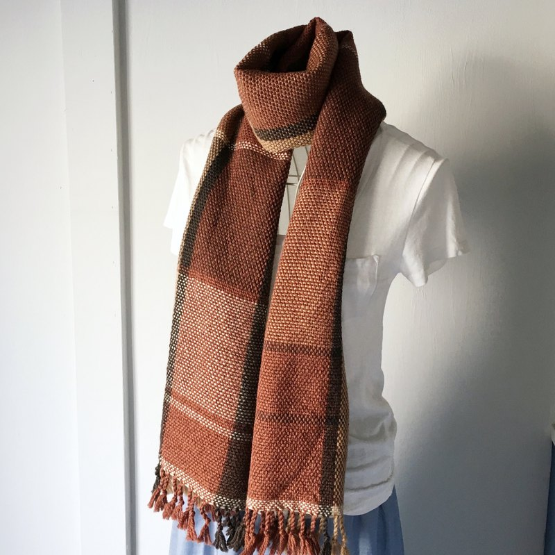[Unisex Scarf] Brown Mix